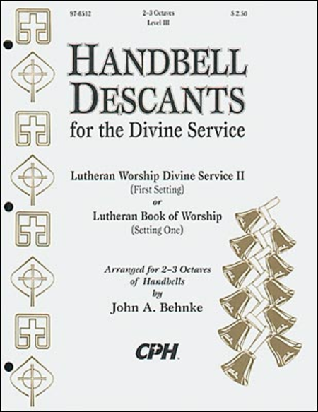 Cover of Handbell Descants For The Divine Service