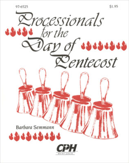 Cover of Processionals For The Day Of Pentecost