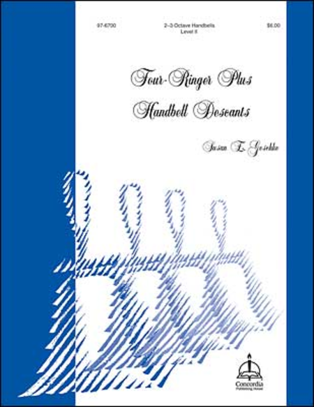 Cover of Four-Ringer Plus Hymn Descants