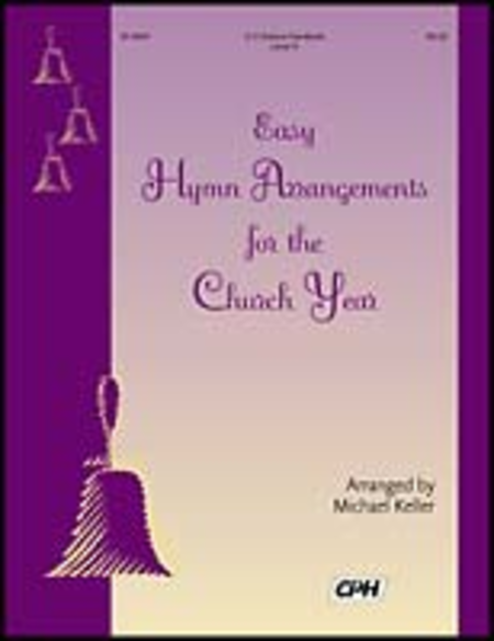 Cover of Easy Hymn Arrangements For The Church Year