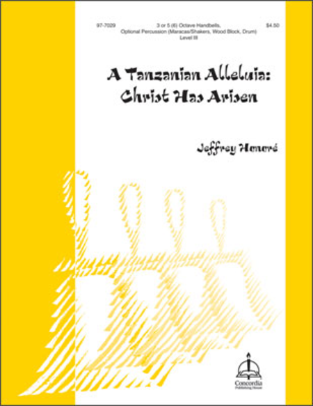 Cover of A Tanzanian Alleluia: Christ Has Arisen