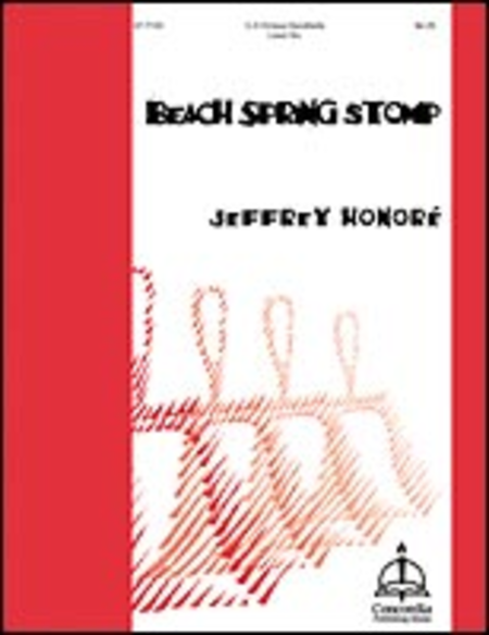 Cover of Beach Spring Stomp