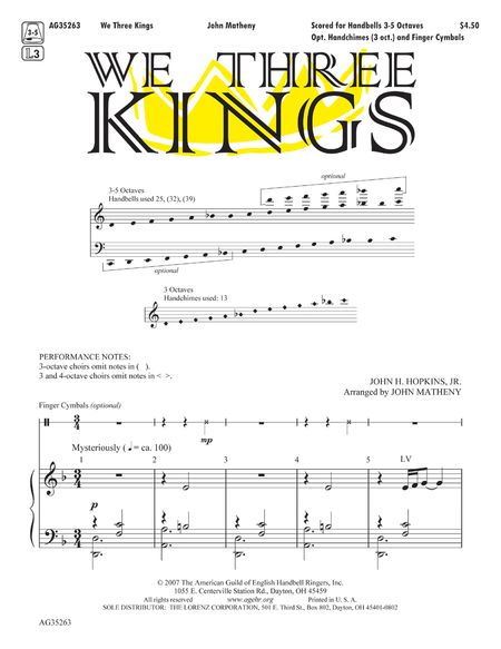 Cover of We Three Kings