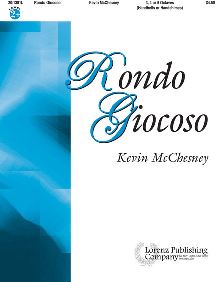 Cover of Rondo Giocoso