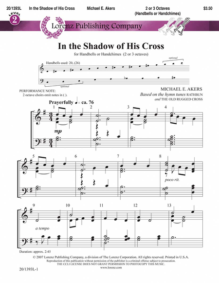 Cover of In the Shadow of His Cross