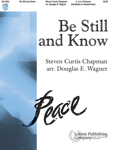 Cover of Be Still and Know
