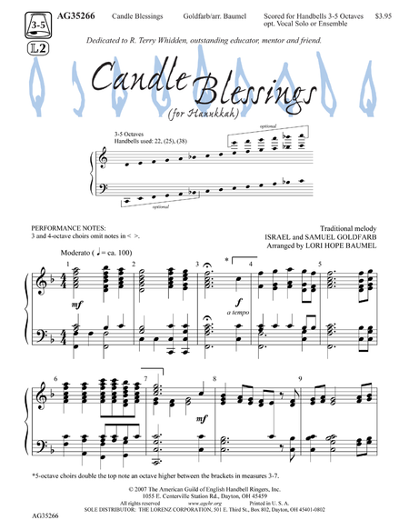 Cover of Candle Blessings