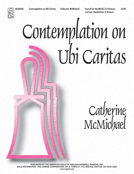 Cover of Contemplation on Ubi Caritas