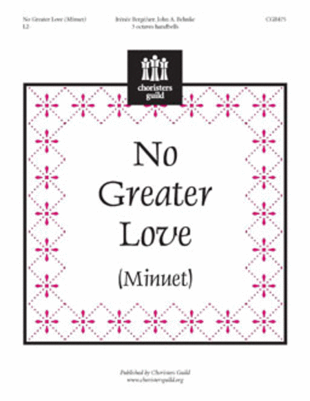 Cover of No Greater Love
