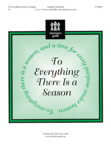 Cover of To Everything There Is a Season