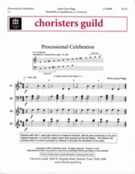 Cover of Processional Celebration