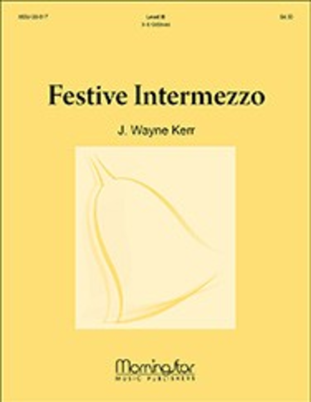 Cover of Festive Intermezzo