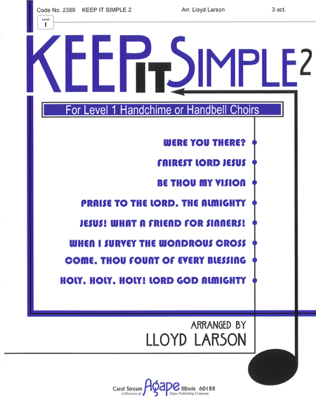 Cover of Keep It Simple