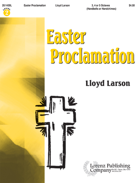 Cover of Easter Proclamation
