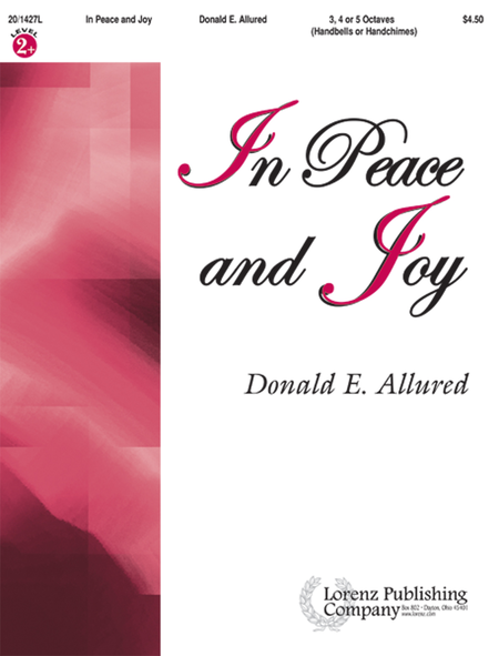 Cover of In Peace and Joy