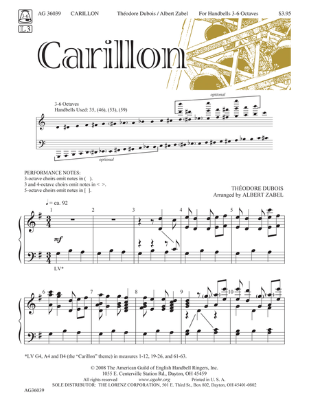 Cover of Carillon