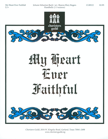 Cover of My Heart Ever Faithful