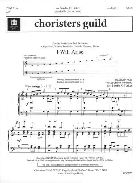 Cover of I Will Arise