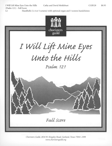 Cover of I Will Lift Mine Eyes Unto the Hills - Full Score and Parts
