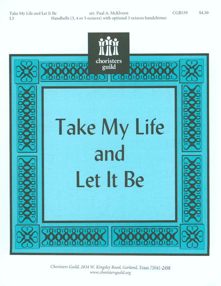 Cover of Take My Life and Let It Be
