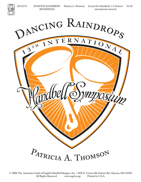 Cover of Dancing Raindrops
