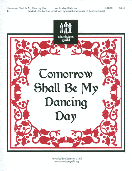 Cover of Tomorrow Shall Be My Dancing Day