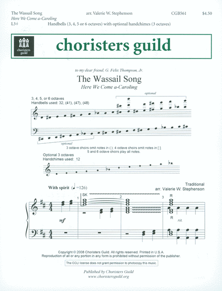 Cover of The Wassail Song
