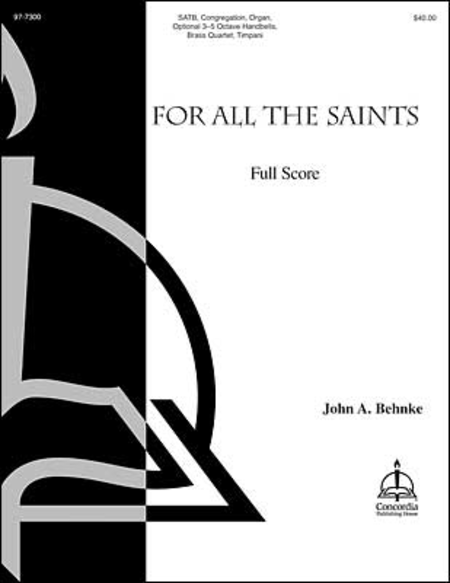 Cover of For All the Saints