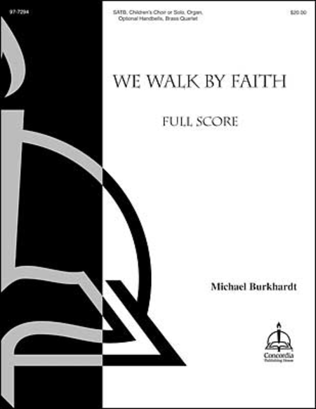 Cover of We Walk By Faith