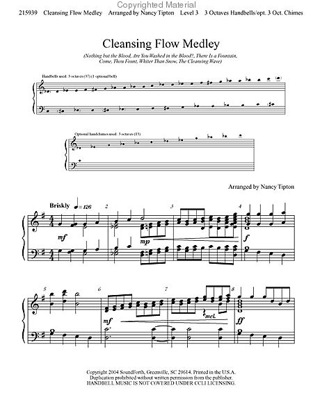 Page 1 of Cleansing Flow Medley