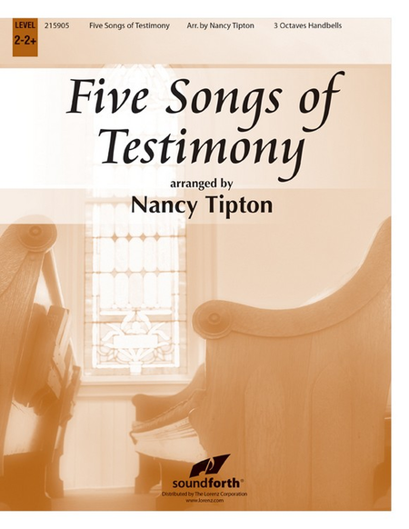 Cover of Five Songs of Testimony