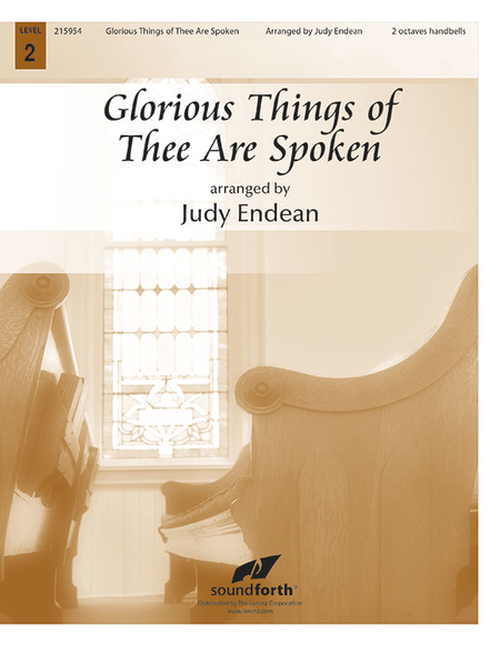 Cover of Glorious Things of Thee Are Spoken