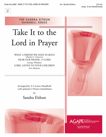 Cover of Take It to the Lord in Prayer