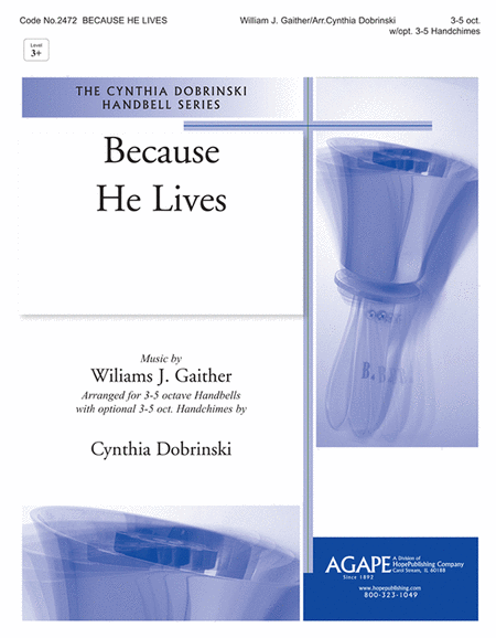 Cover of Because He Lives