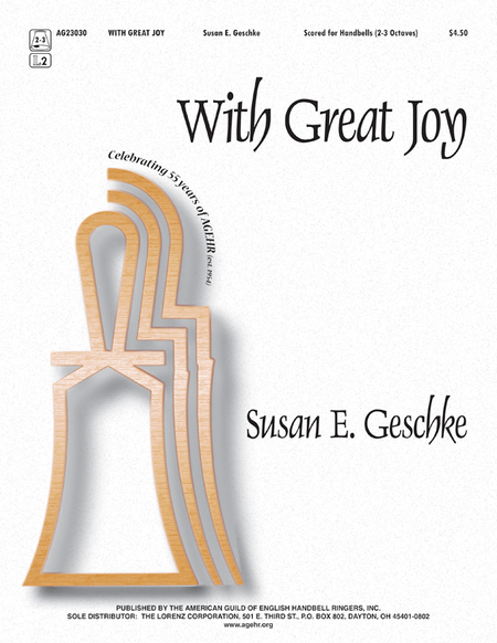 Cover of With Great Joy