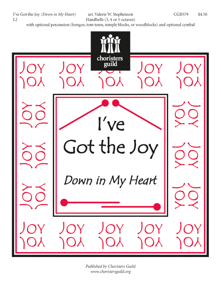Cover of I've Got the Joy (Down in My Heart)