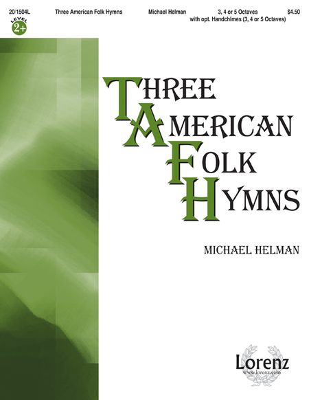 Cover of Three American Folk Hymns