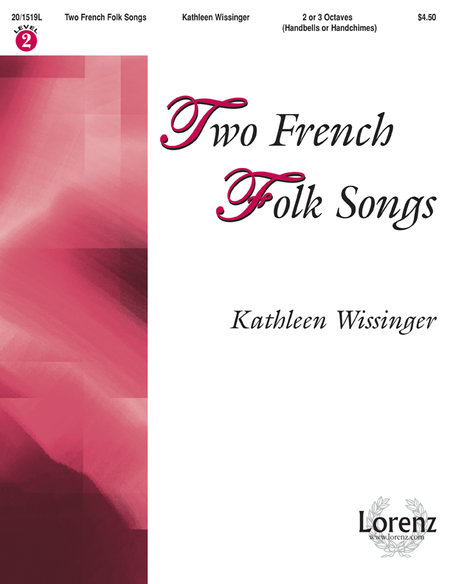 Cover of Two French Folk Songs