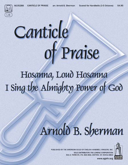 Cover of Canticle of Praise