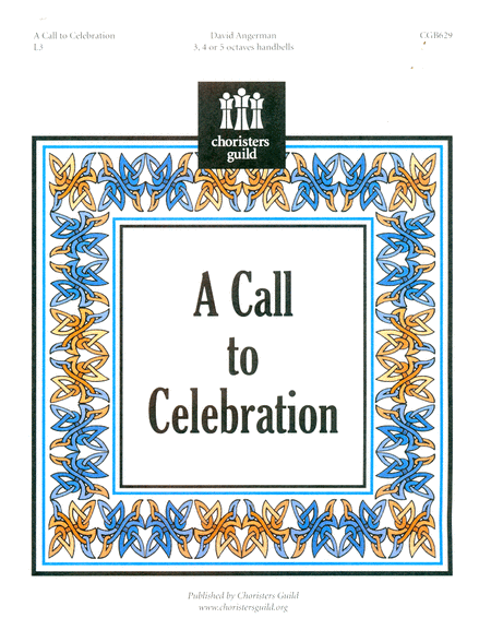 Cover of A Call to Celebration