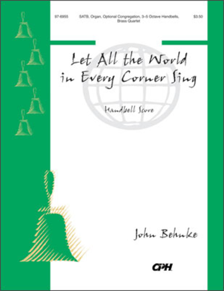 Cover of Let All The World In Every Corner Sing