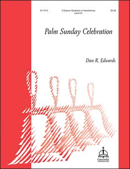 Cover of Palm Sunday Celebration