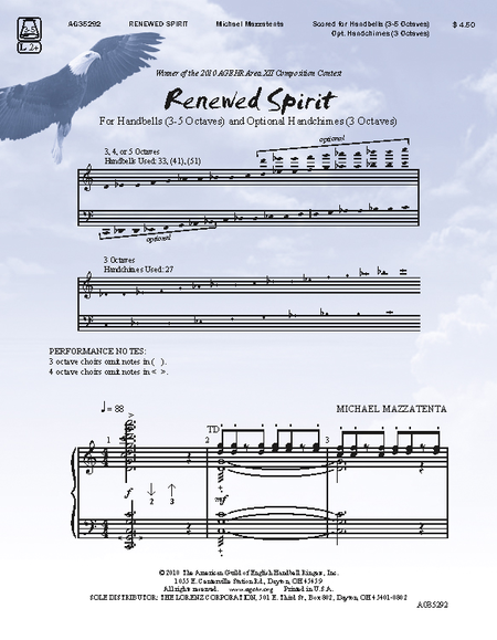 Cover of Renewed Spirit