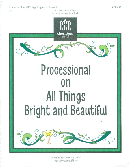 Cover of Processional on All Things Bright and Beautiful