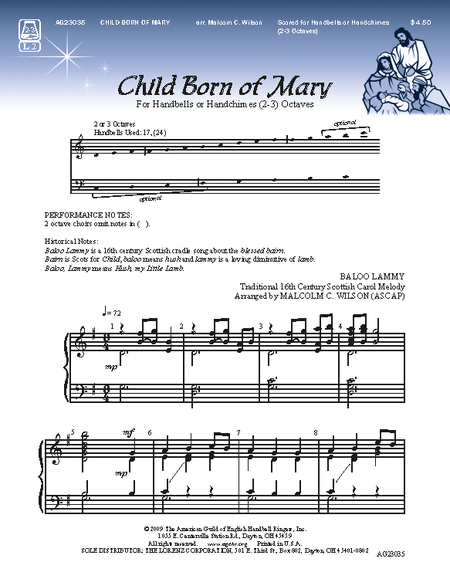 Cover of Child Born of Mary