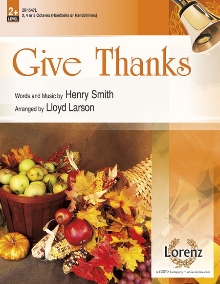 Cover of Give Thanks