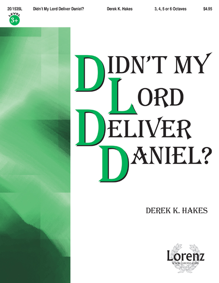 Cover of Didn't My Lord Deliver Daniel?
