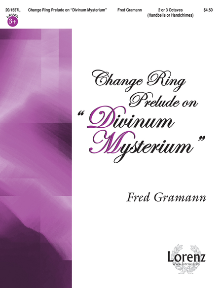 "Cover of Change Ring Prelude on ""Divinum Mysterium"""