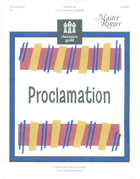Cover of Proclamation
