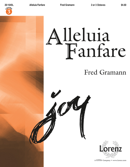 Cover of Alleluia Fanfare
